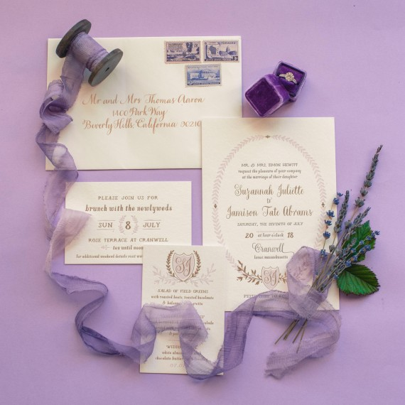 Creative Wedding Invitation Tip Feature On Martha Stewart Weddings