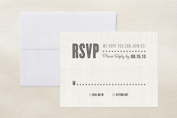 rsvp card wording for wedding