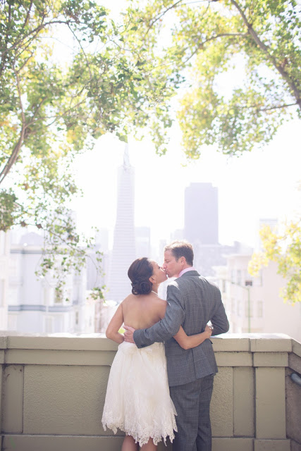 San Francisco Wedding Featured on Style Me Pretty