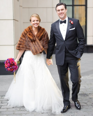 Real Wedding: New Year's Eve Wedding Feature on Martha Stewart Weddings