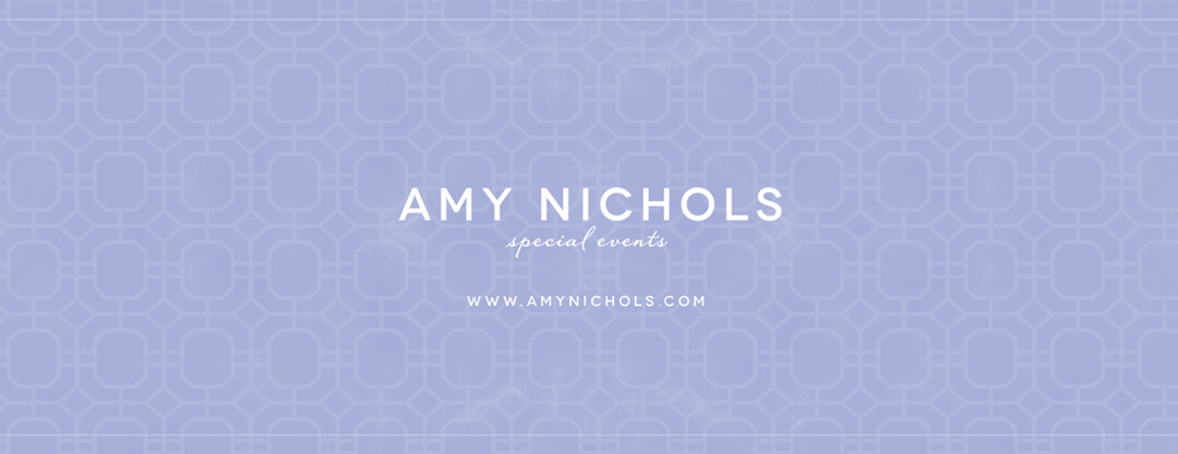 Introducing New Website and Branding of Amy Nichols Special Events!