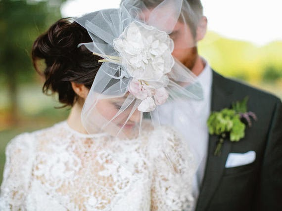 Wedding Veil Glossary on HuffPost Weddings