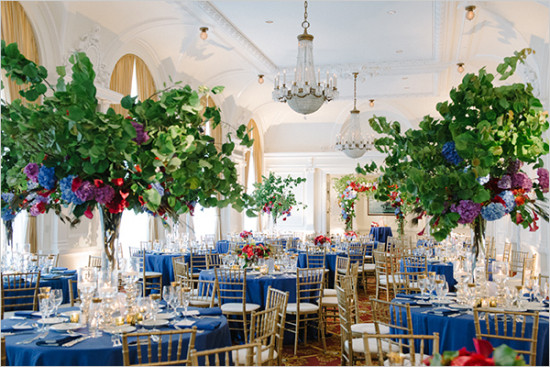 Colorful Olympic Club Wedding Featured on Wedding Chicks