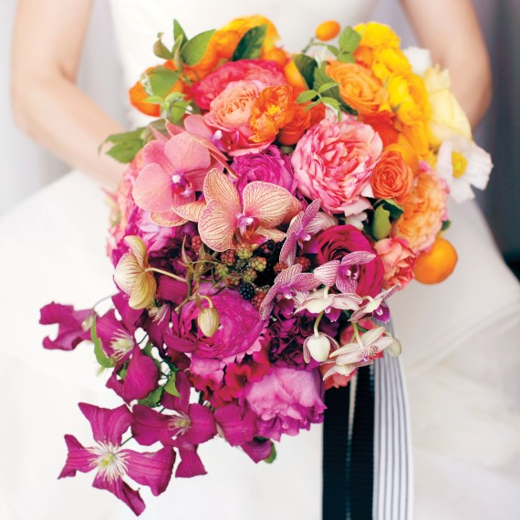 Summer Wedding Flower Tips on Martha Stewart Weddings