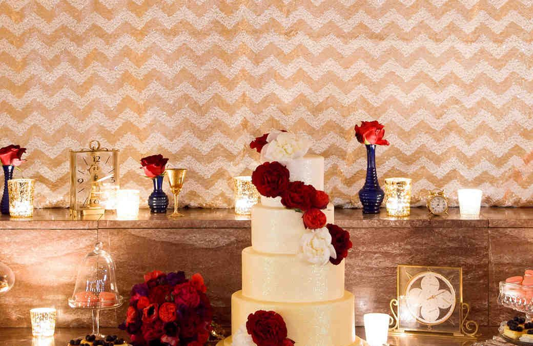 Press: 11 of the Most Decadent Desserts for a Winter Wedding