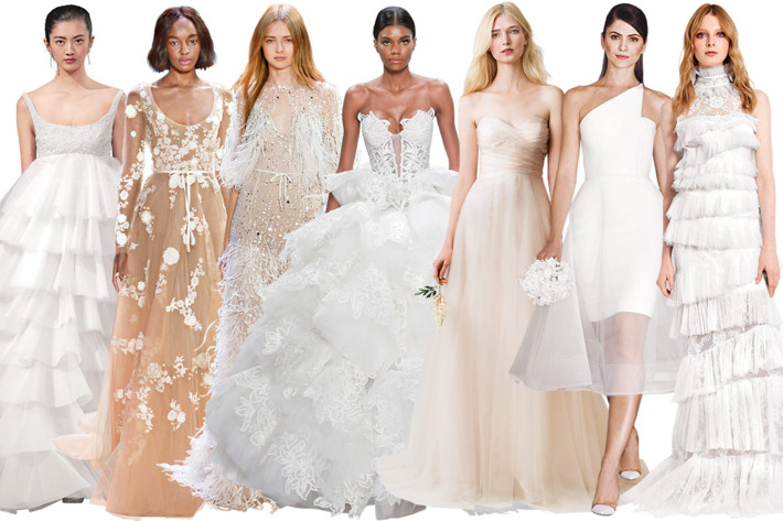Reinvented Classic Wedding Dresses on New York Magazine