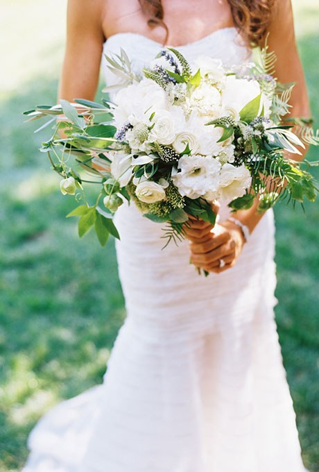 Press: (Throwback) Herb Wedding Bouquet Featured on Brides