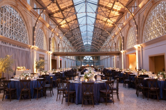 Real Wedding: Classic Ferry Building Wedding Throwback on Style Me Pretty