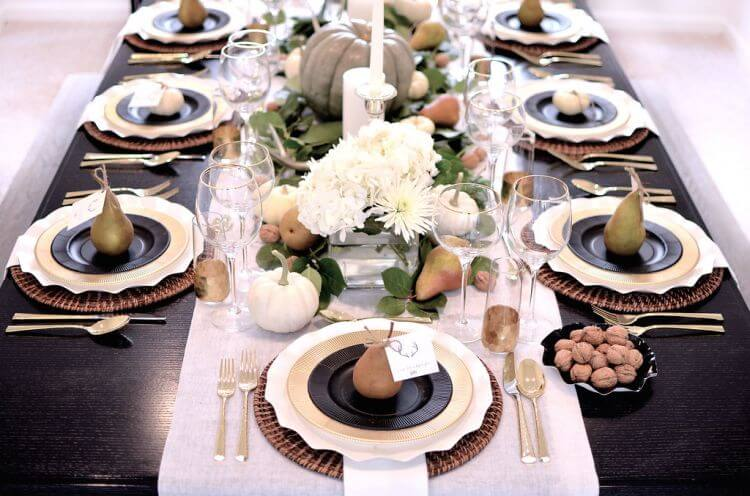Friendsgiving or Thanksgiving Table Ideas on Inspired Home