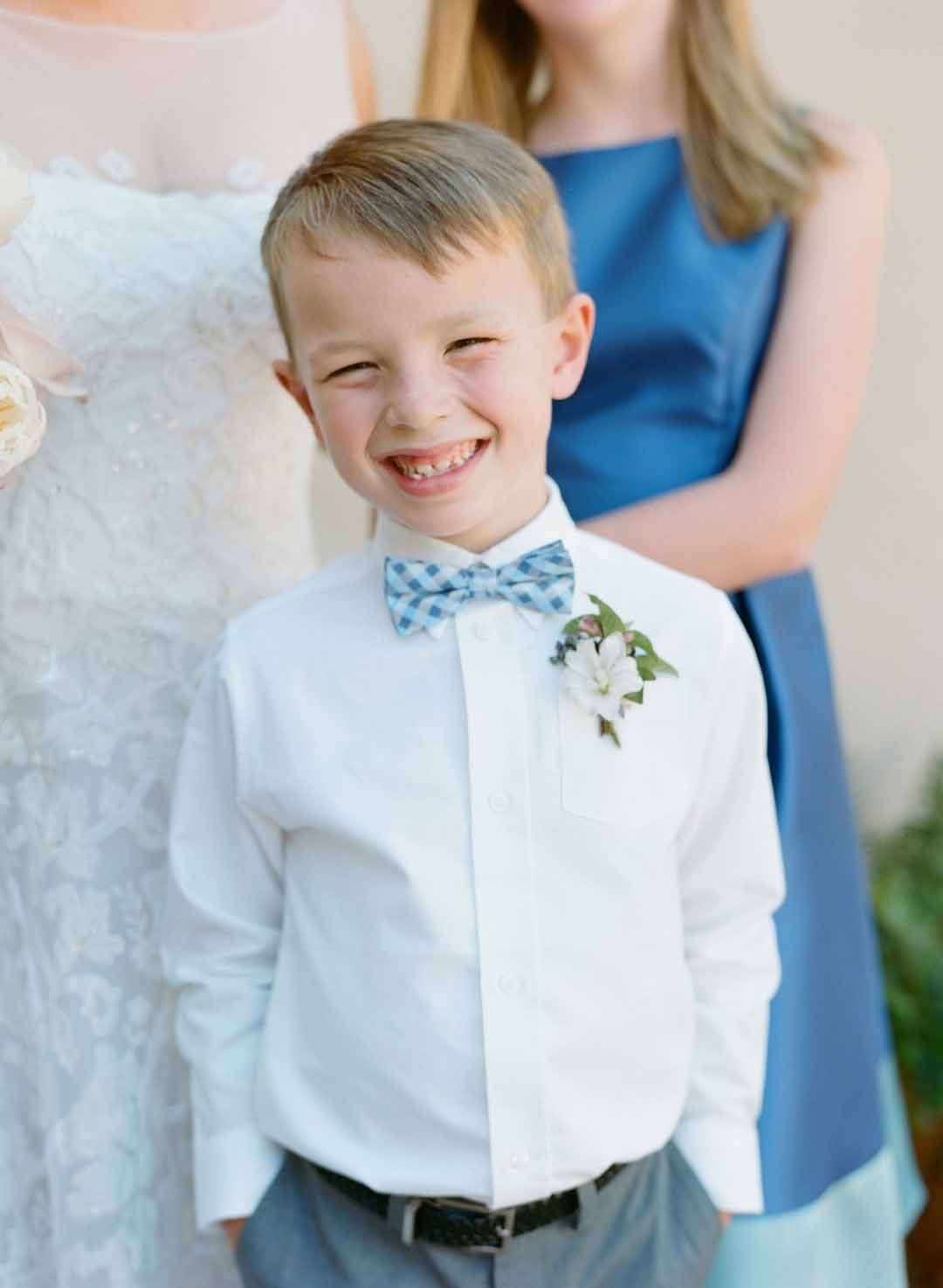 Classic ring bearer outfit