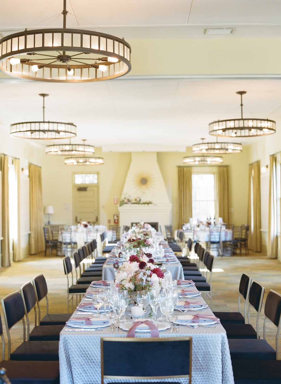 Cavallo Point wedding reception by Amy Nichols Special Events