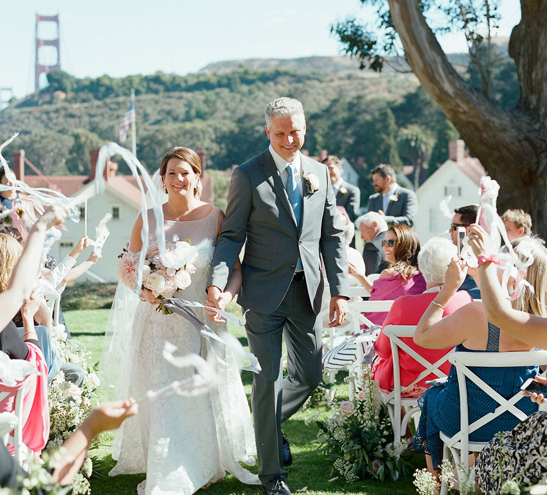Real Wedding: Amy's San Francisco Wedding on Martha Stewart Weddings