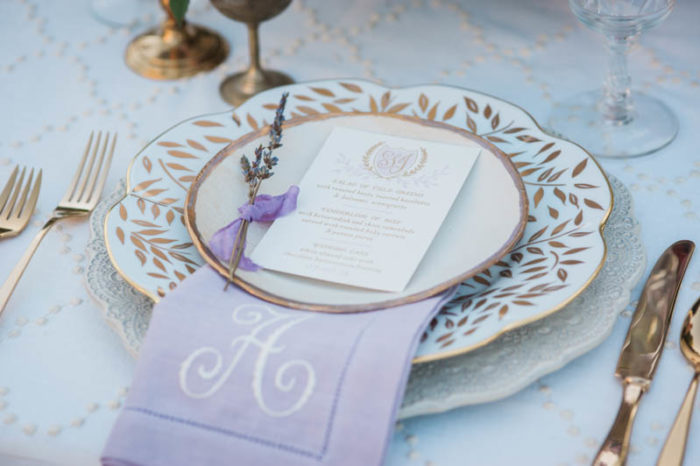 Lavender + Berry Wedding Inspiration Featured on Elizabeth Anne Designs