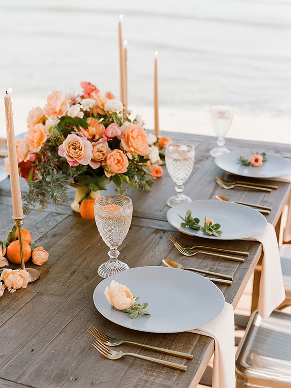 Event planning - elegant dinner table by Amy Nichols Special Events