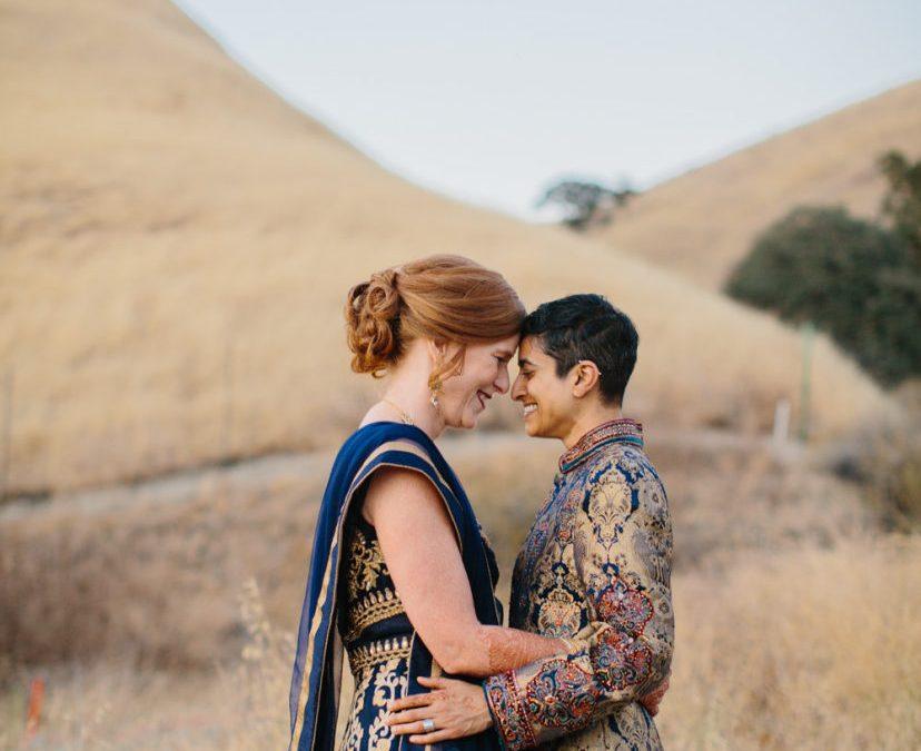 Real Wedding: Eclectic & Earthy Livermore Wedding at Wente Vineyards on Style Me Pretty