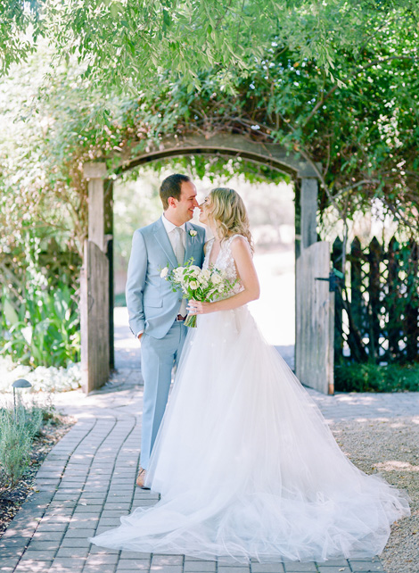 Napa Valley Wine Country Wedding - bride and groom