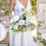 annadel estate winery wedding planner | amynichols.com | lavender and peach wedding ideas