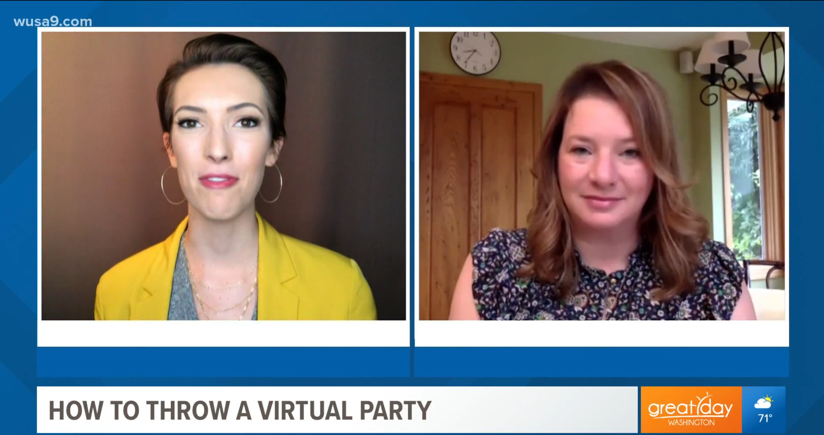 Press: Don't fret! Go ahead and throw that virtual party