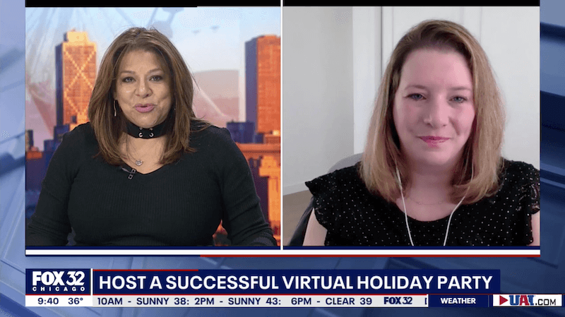 Press: Tips for hosting a successful virtual holiday party